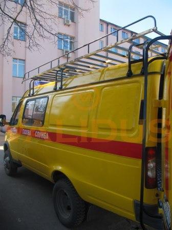 Аварийно – восстановительная машина для газовой службы