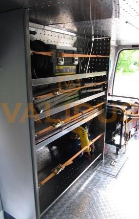 Аварийно –восстановительная сварочная машина для газовой службы (Ford Transit)