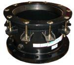 Фланцевые соединения с допустимой  разницей в наружном диаметре труб 30 мм