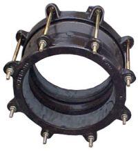 Муфтовые соединения с допустимой  разницей в наружном диаметре труб 50 мм (Nova Siria)